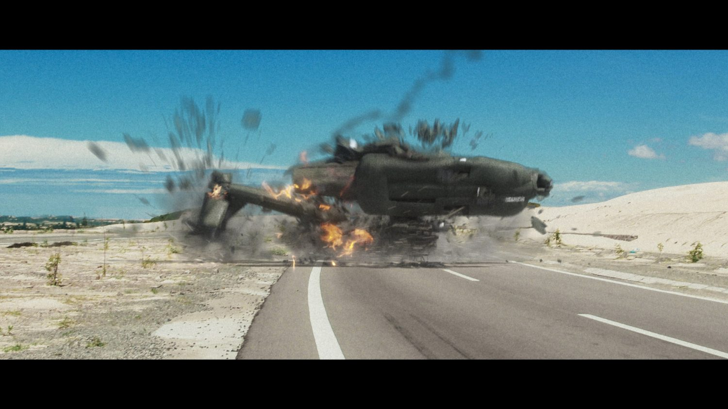 Helicopter Crash VFX for your Videos